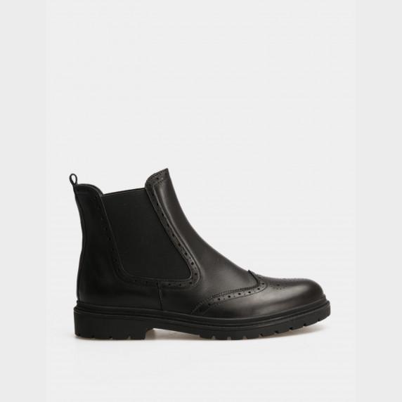 Ботинки черные. Натуральная кожа
