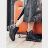 Ботинки черные. Натуральная кожа. Байка5