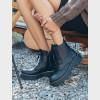Ботинки черные. Натуральная кожа. Мех6