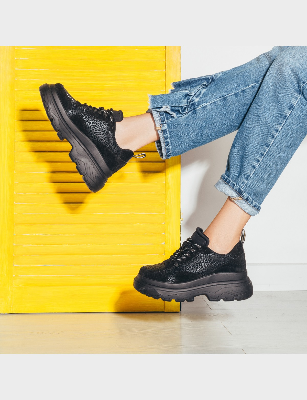 Кросівки чорні натуральна шкіра/замша. Текстиль6