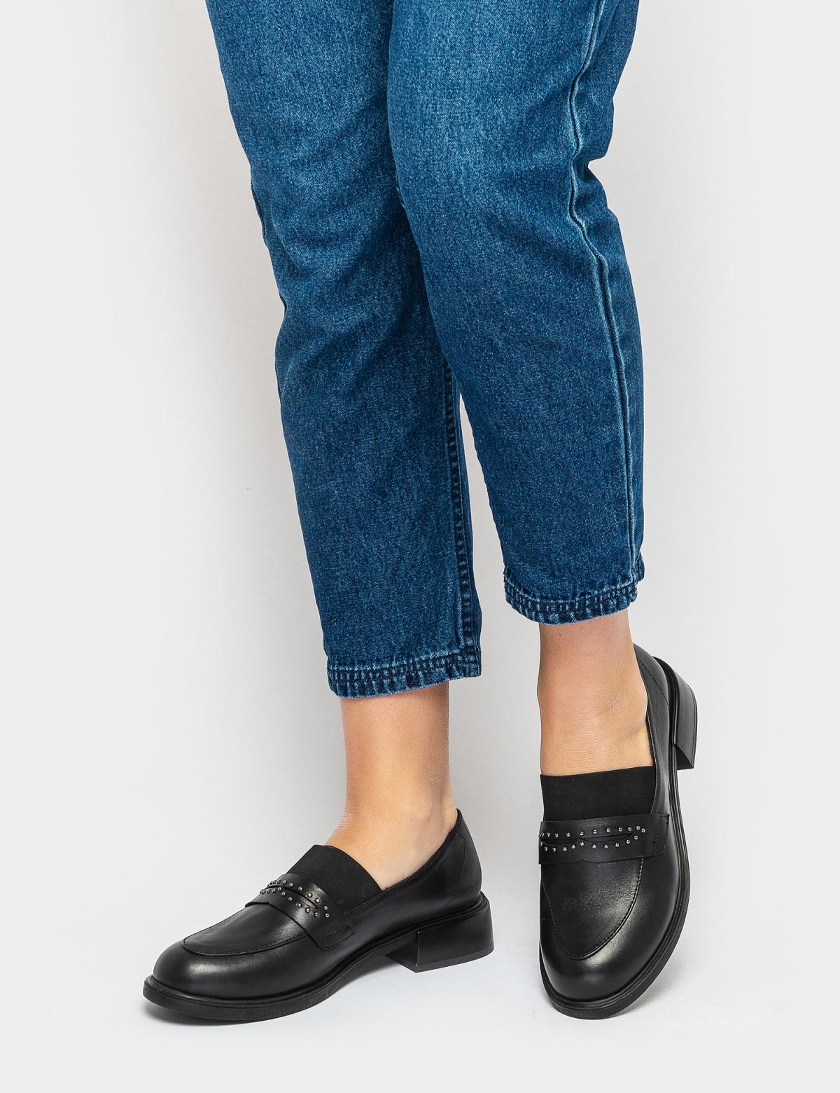 Туфли черные. Натуральная кожа5