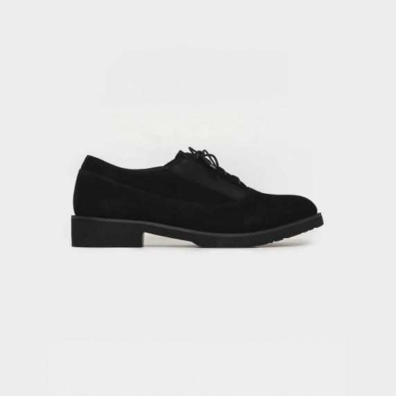 Туфли черные. Натуральная замша
