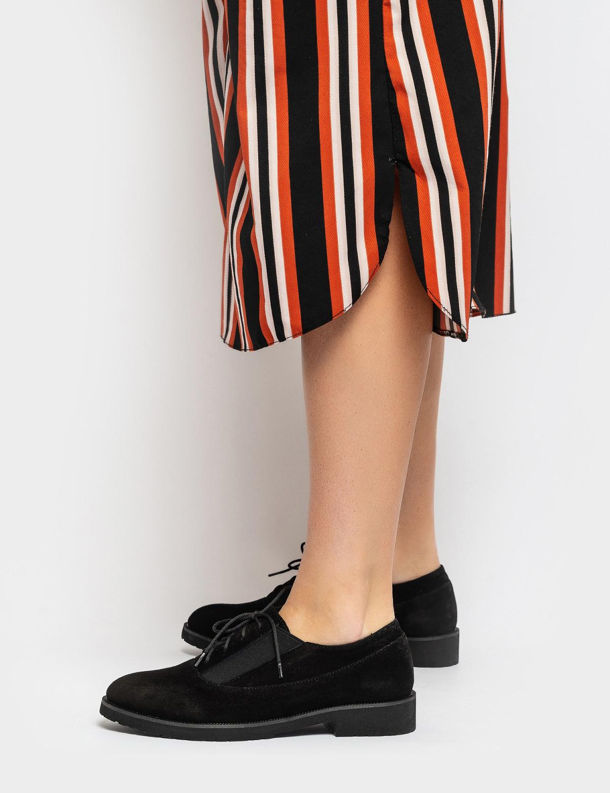 Туфли черные. Натуральная замша5