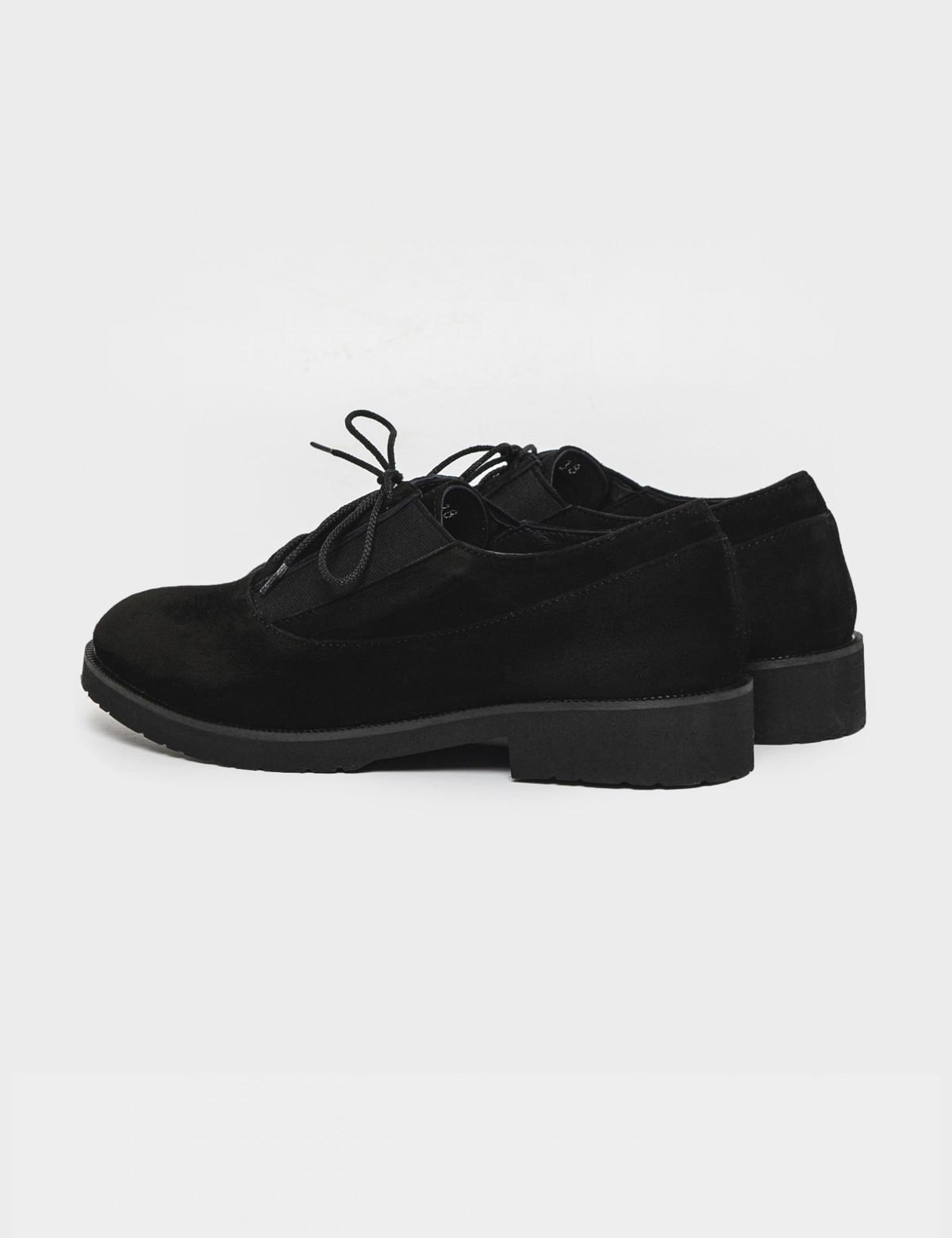 Туфли черные. Натуральная замша2
