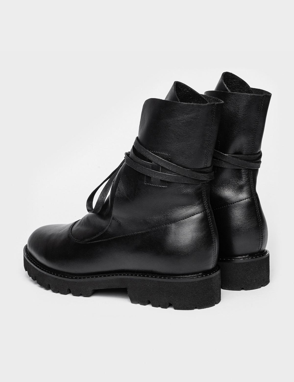 Ботинки черные. Натуральная кожа. 2
