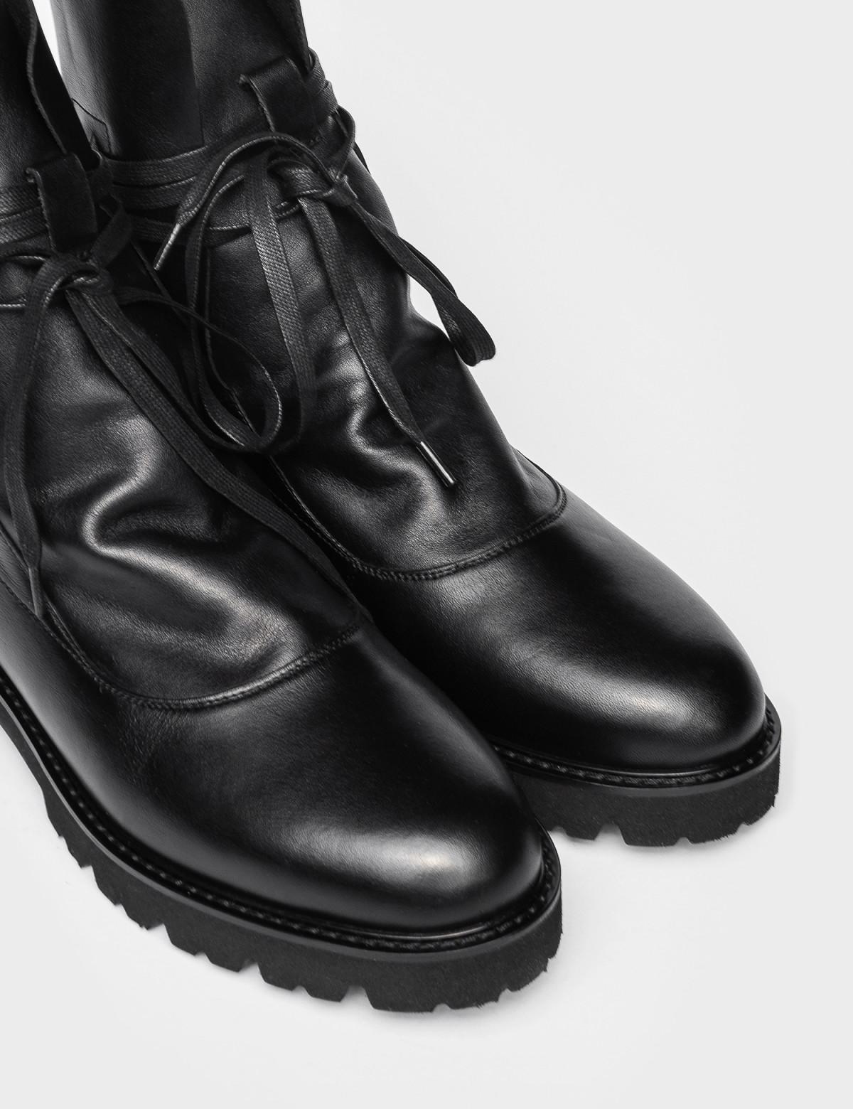 Ботинки черные. Натуральная кожа. 3