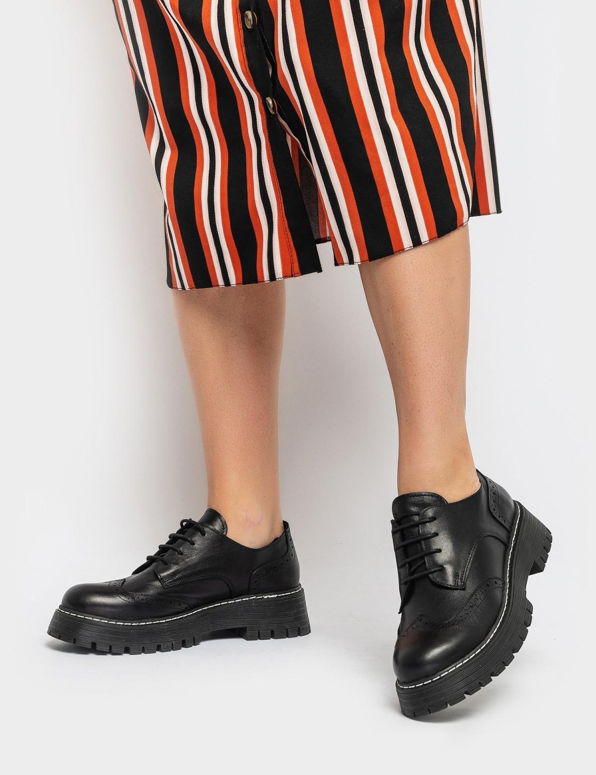Туфли черные. Натуральная кожа4