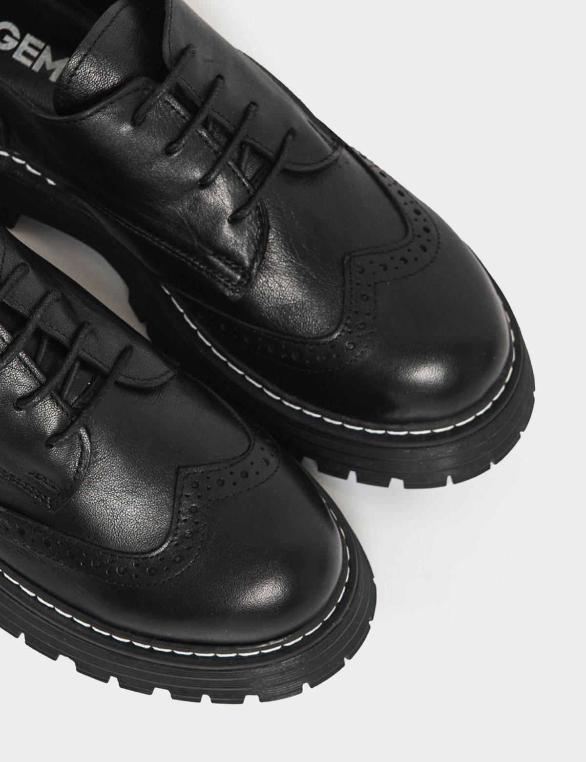 Туфли черные. Натуральная кожа3