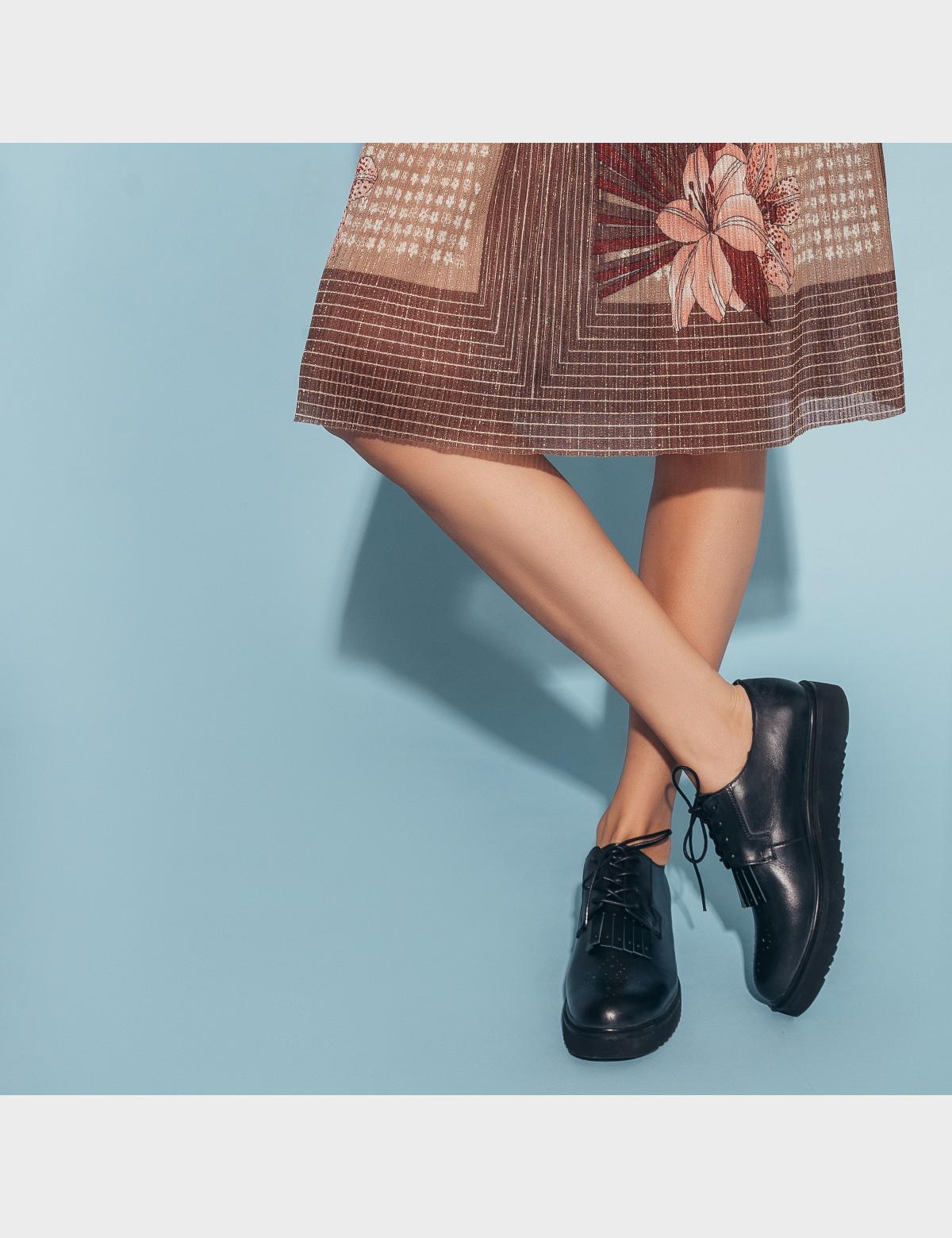 Туфлі чорні, натуральна шкіра7