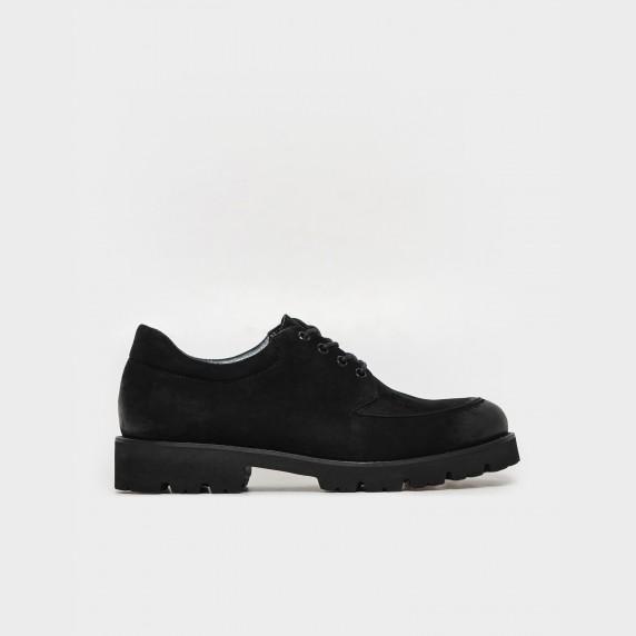 Туфлі чорні. Натуральний нубук