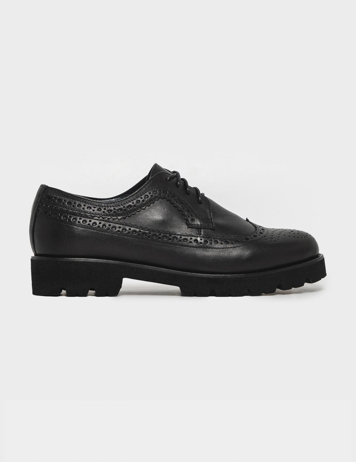 Туфли черные. Натуральная кожа