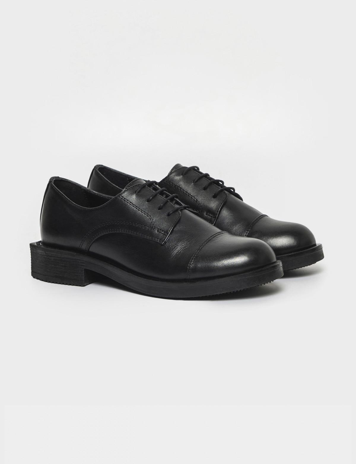 Туфли черные. Натуральная кожа1