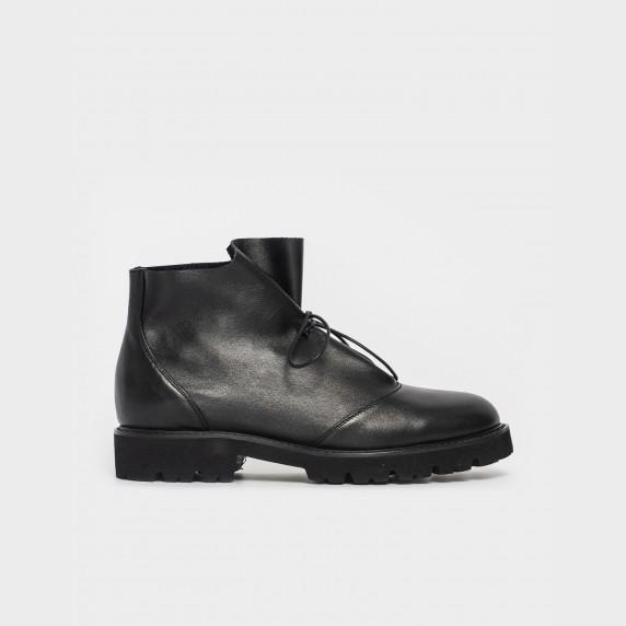 Ботинки черные. Натуральная кожа.