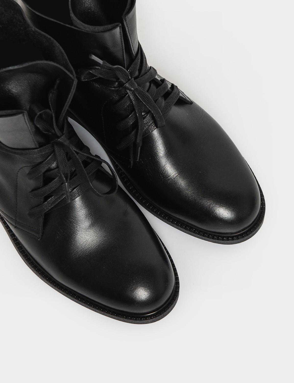 Черевики чорні. Натуральна шкіра3