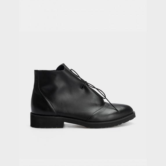 Ботинки черные натуральная кожа
