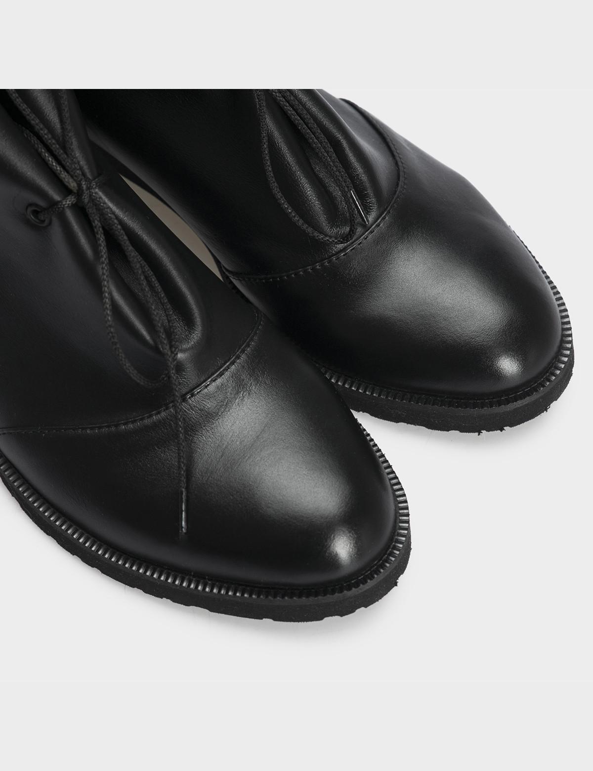 Черевики чорні, натуральна шкіра4