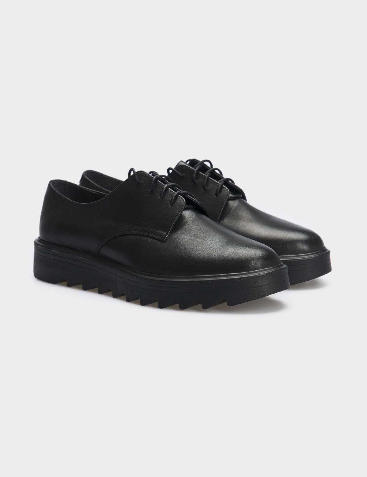 Туфли черные, натуральная кожа1
