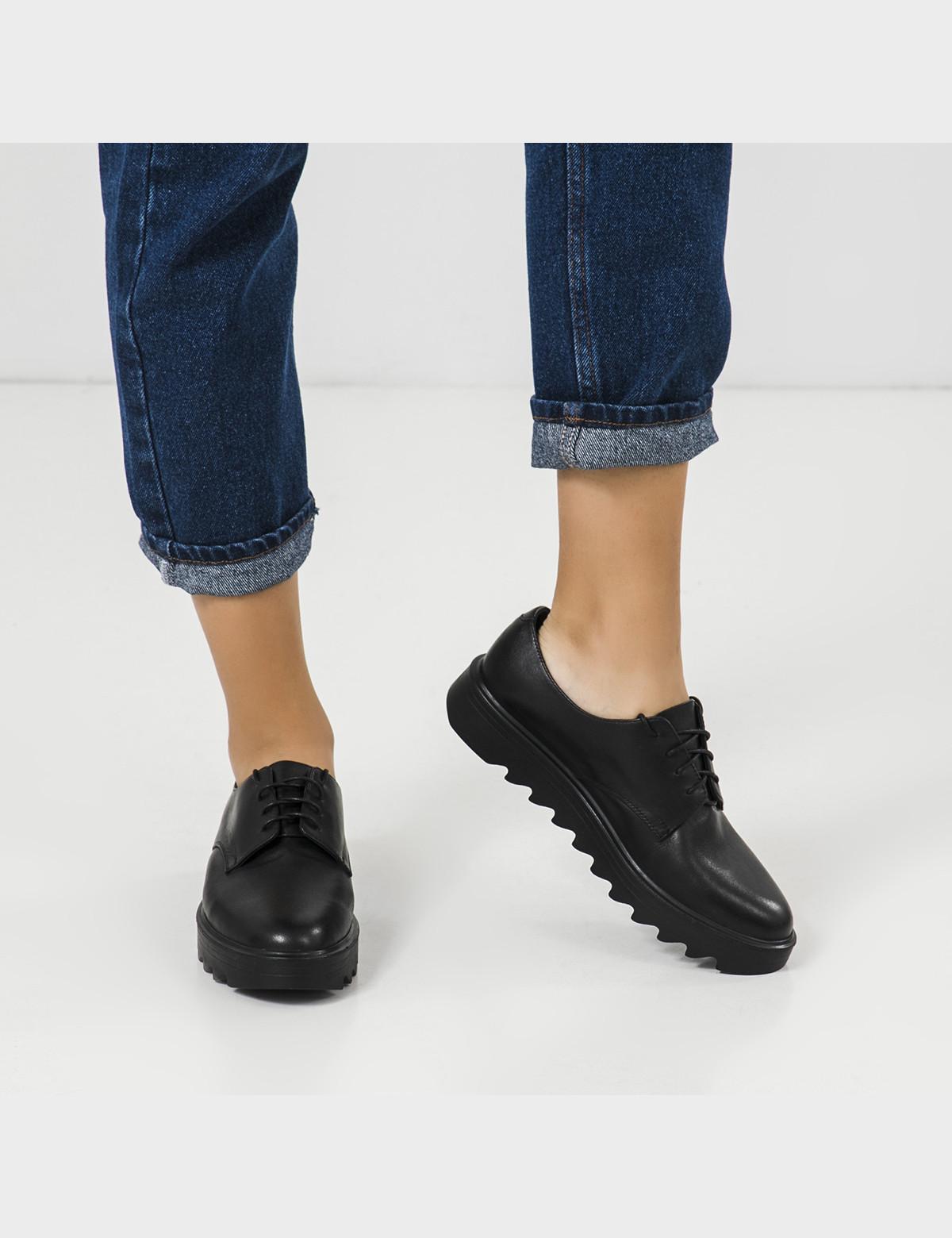 Туфли черные, натуральная кожа5