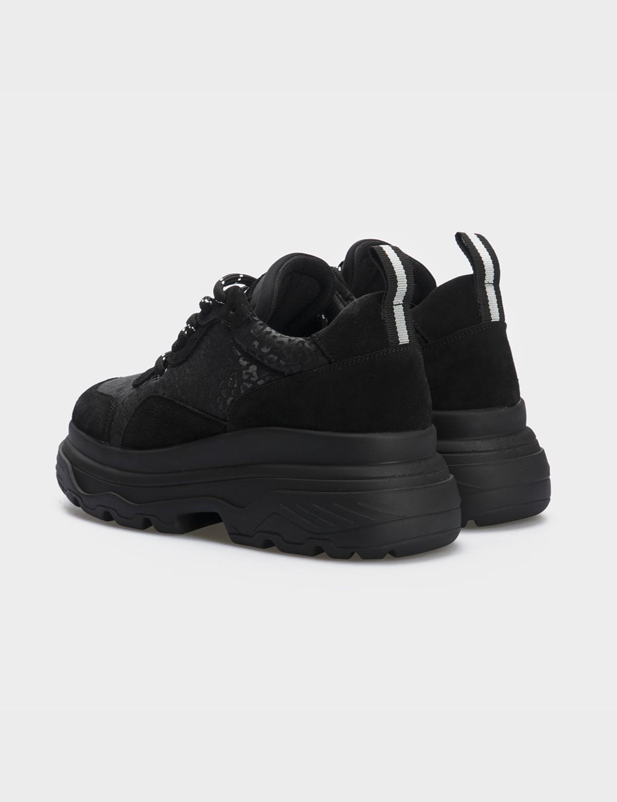 Кросівки чорні натуральна шкіра/замша. Текстиль2