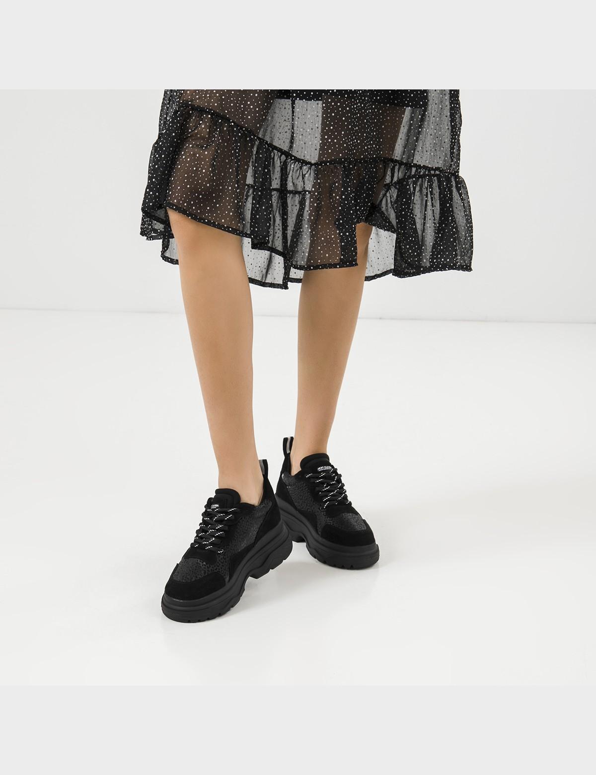Кросівки чорні натуральна шкіра/замша. Текстиль5