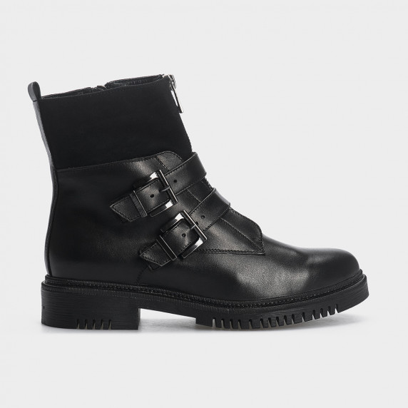Ботинки, натуральная кожа/замша. Байка