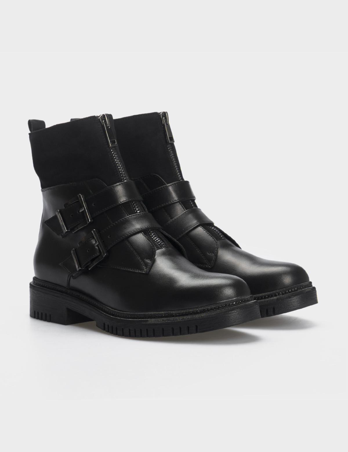 Ботинки, натуральная кожа/замша. Байка1