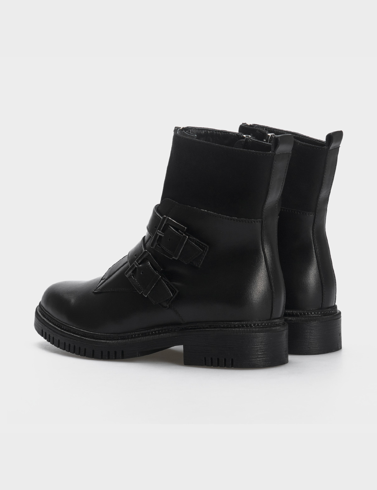 Ботинки, натуральная кожа/замша. Байка2