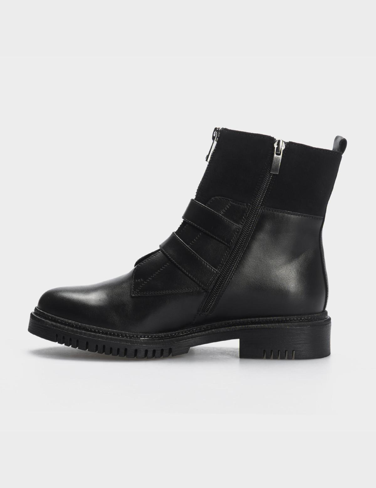 Ботинки, натуральная кожа/замша. Байка3