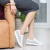 Кроссовки белые, натуральная кожа6