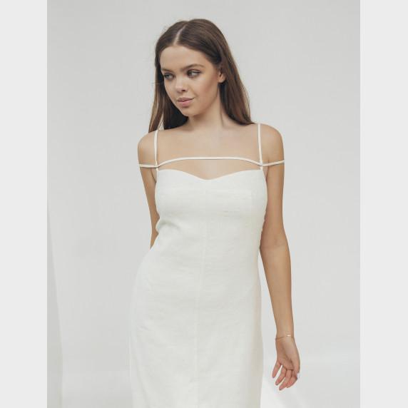 Сукня молочна