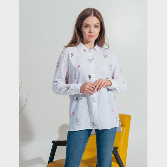 Рубашка біла