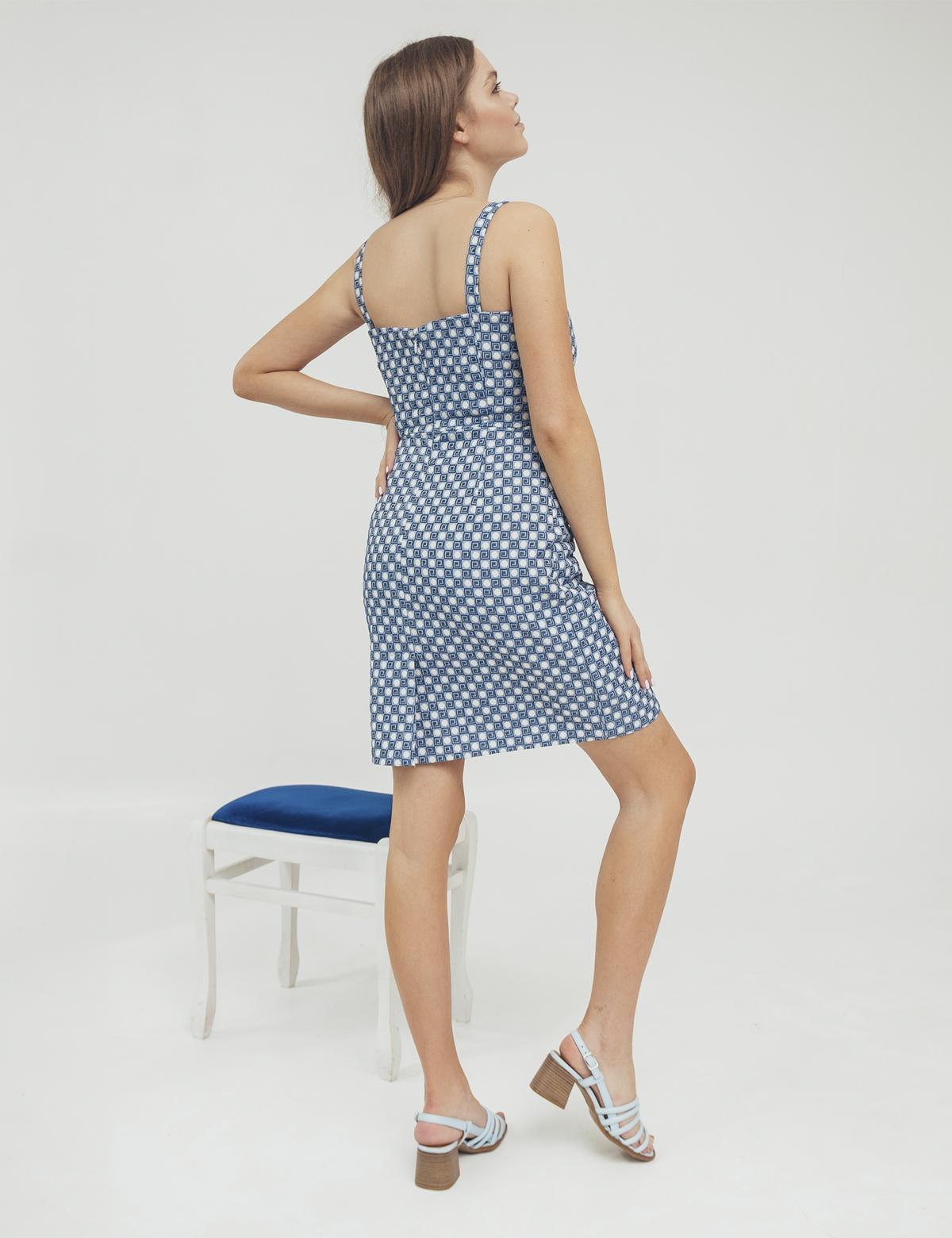 Сукня блакитна1