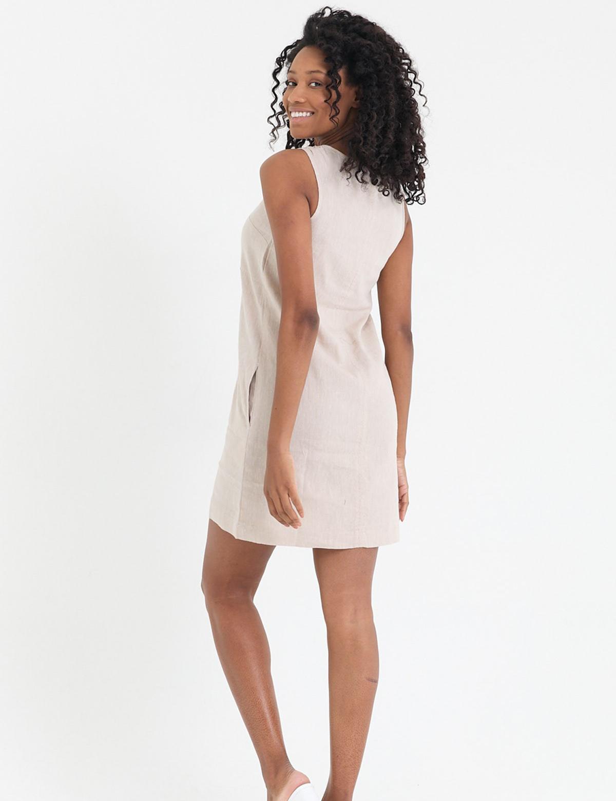 Сукня бежева4