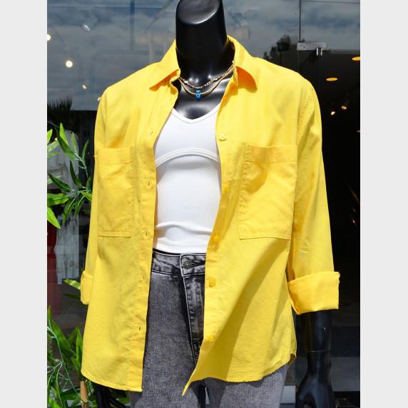 Сорочка жовта