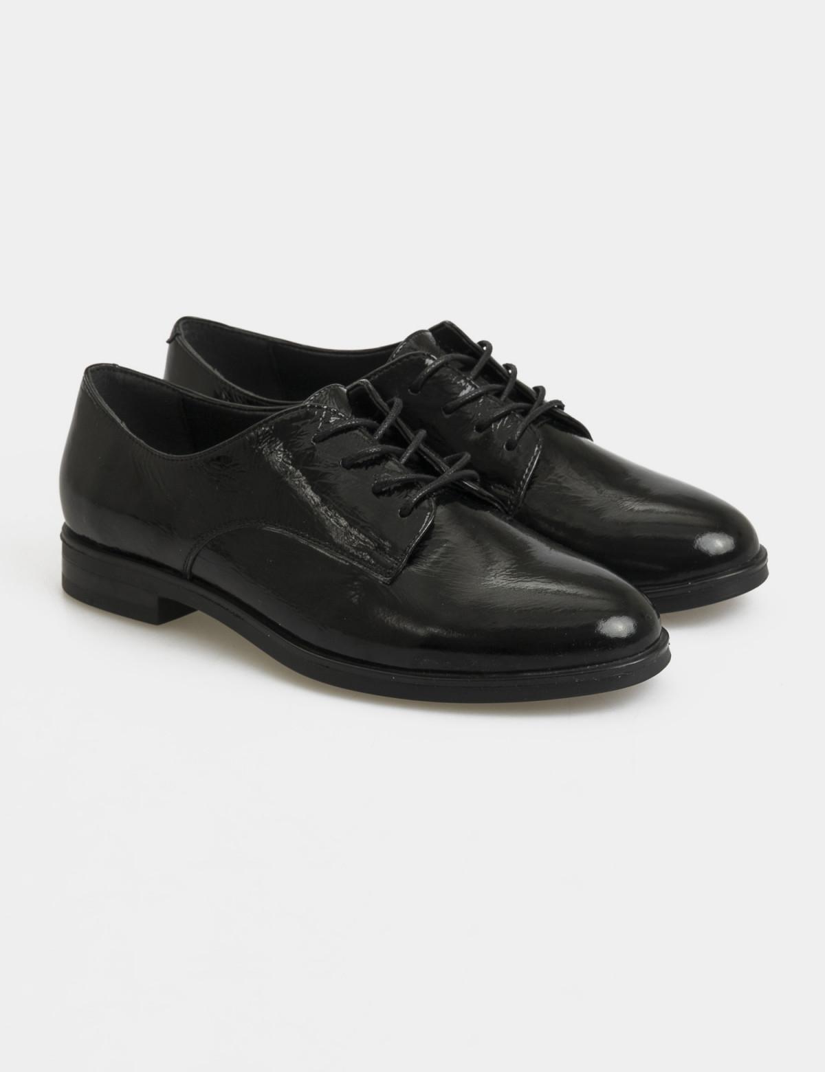 Туфли черные лакированные, натуральная кожа1