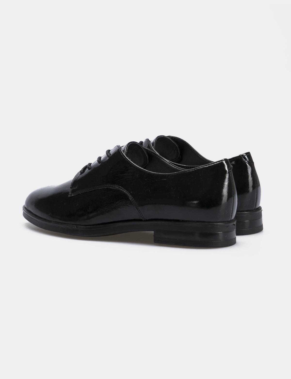 Туфли черные лакированные, натуральная кожа2