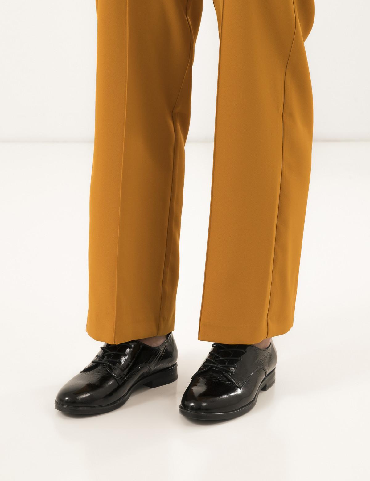 Туфли черные лакированные, натуральная кожа5