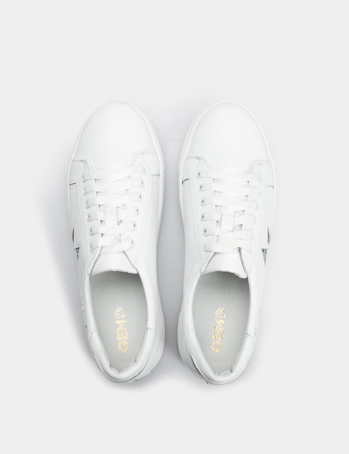 Кеды белые, натуральная кожа3