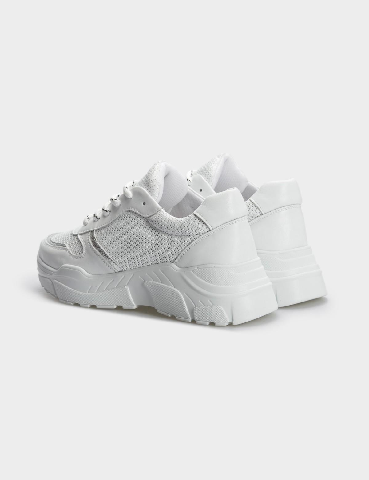 Кроссовки белые, натуральная кожа. Текстиль2