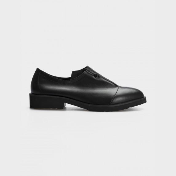 Туфлі чорні, натуральна шкіра