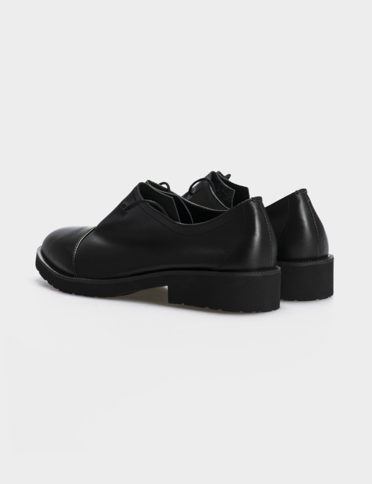 Туфлі чорні, натуральна шкіра2