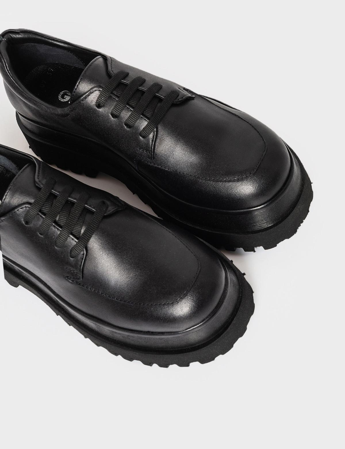 Туфлі чорні. Натуральна шкіра3