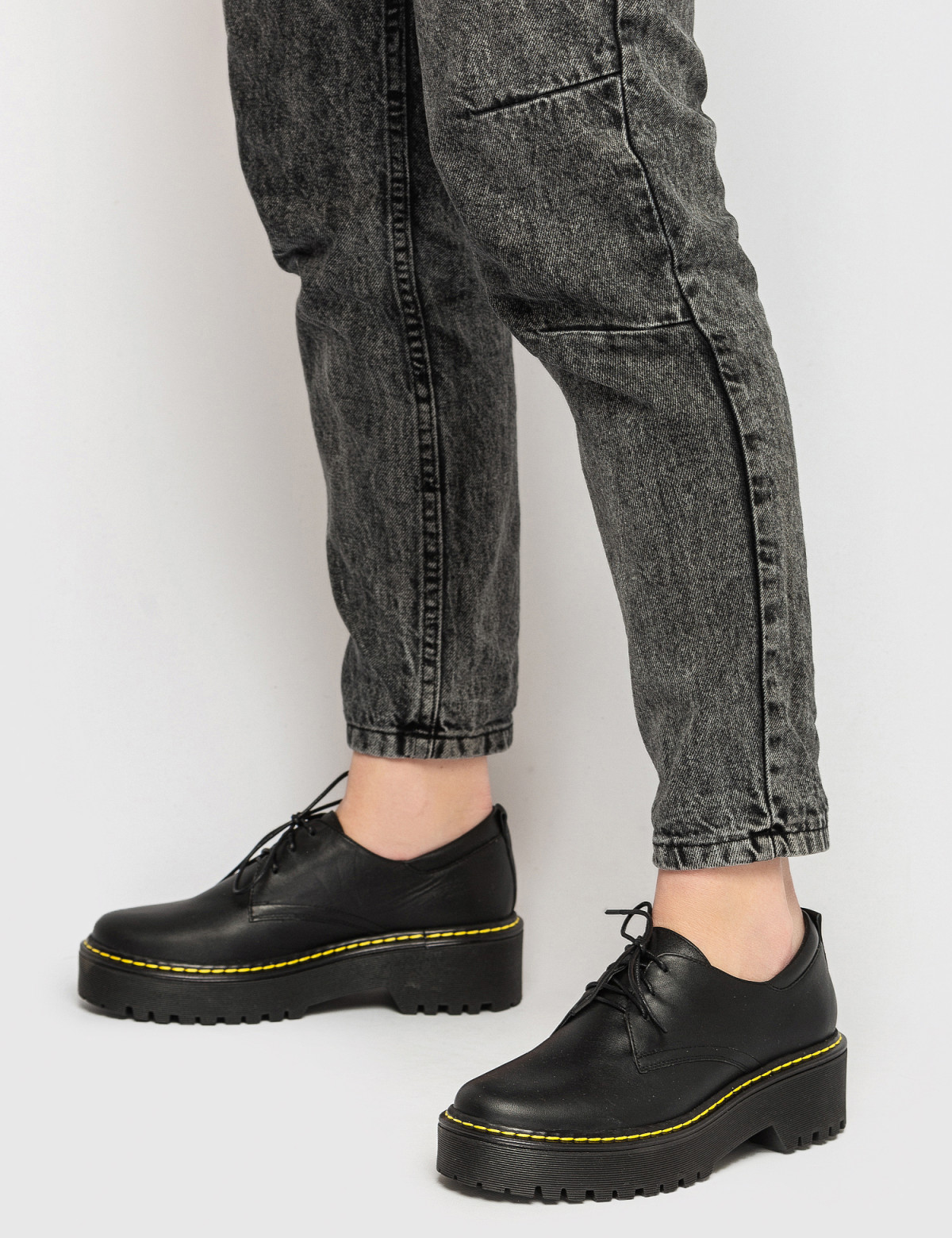 Туфлі чорні. Натуральна шкіра4