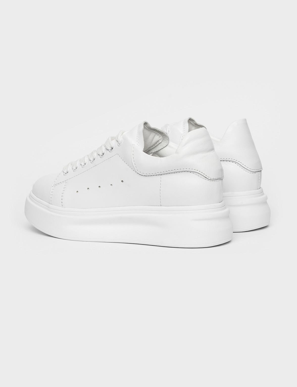 Кросівки білі. Натуральна шкіра2