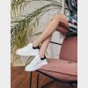 Кросівки білі/чорні. Натуральна шкіра5
