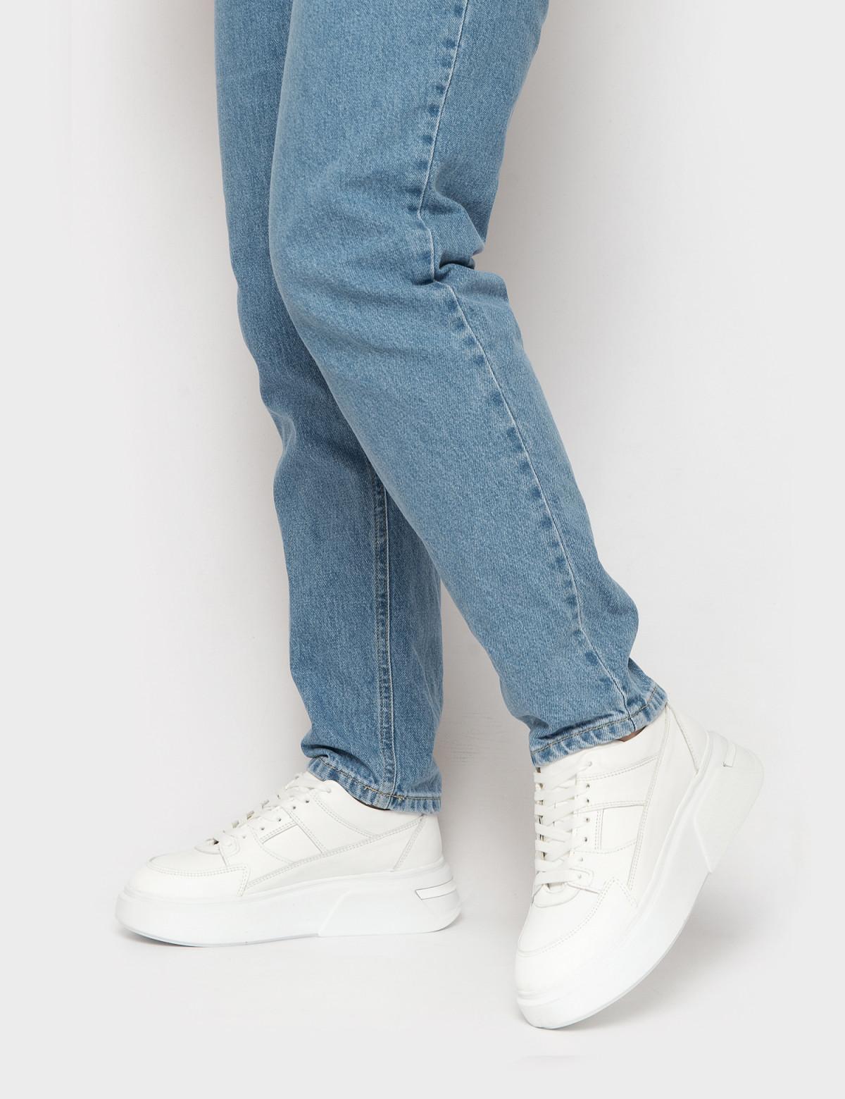 Кросівки білі. Натуральна шкіра4