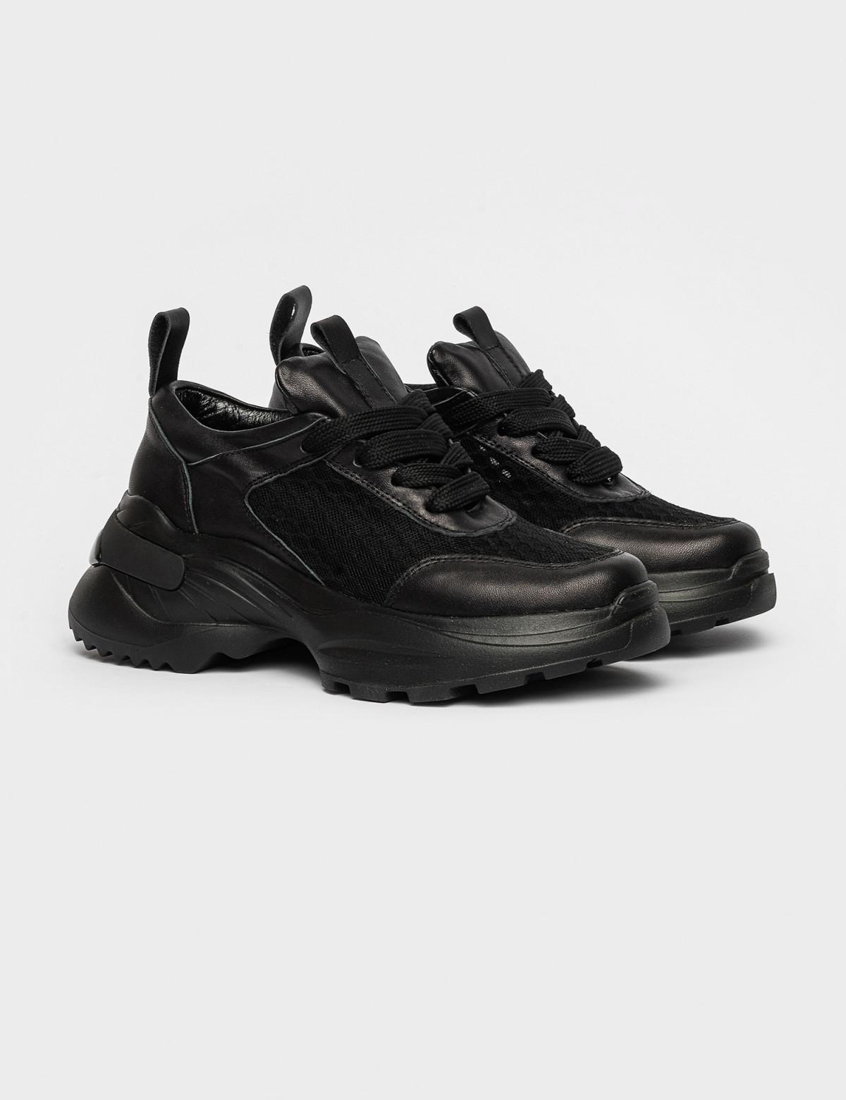 Кросівки чорні. Натуральна шкіра1