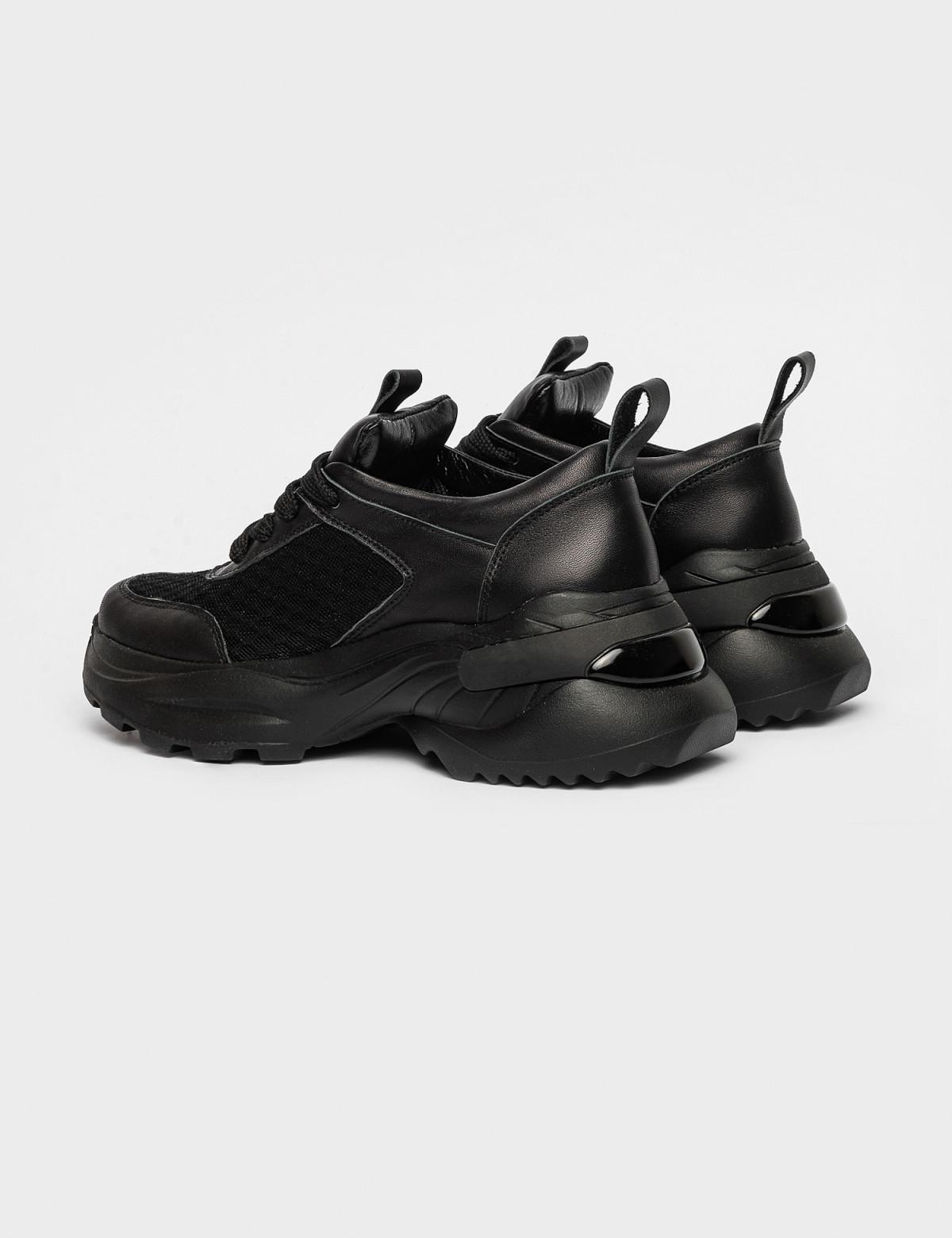 Кросівки чорні. Натуральна шкіра2