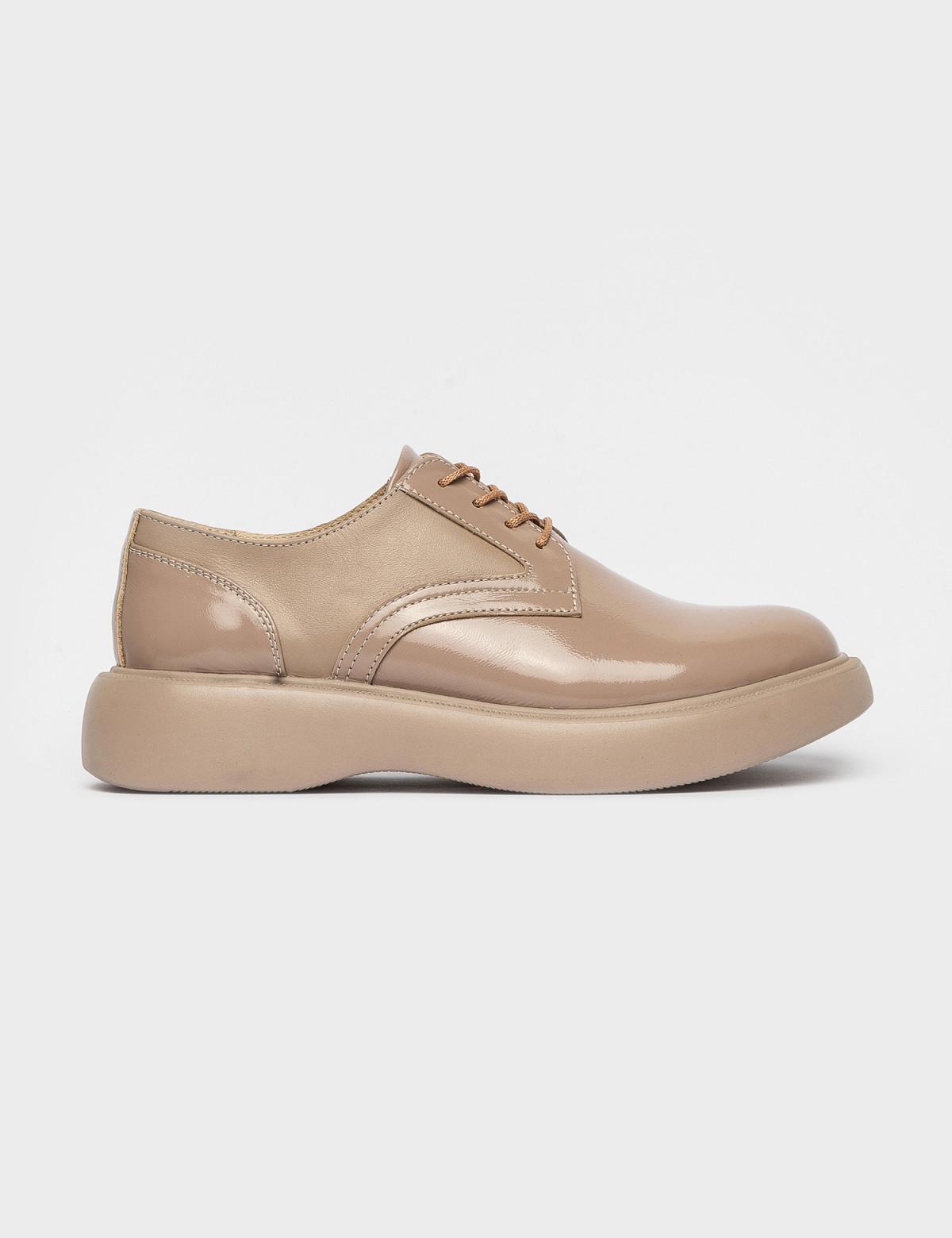 Туфлі бежеві. Натуральна шкіра