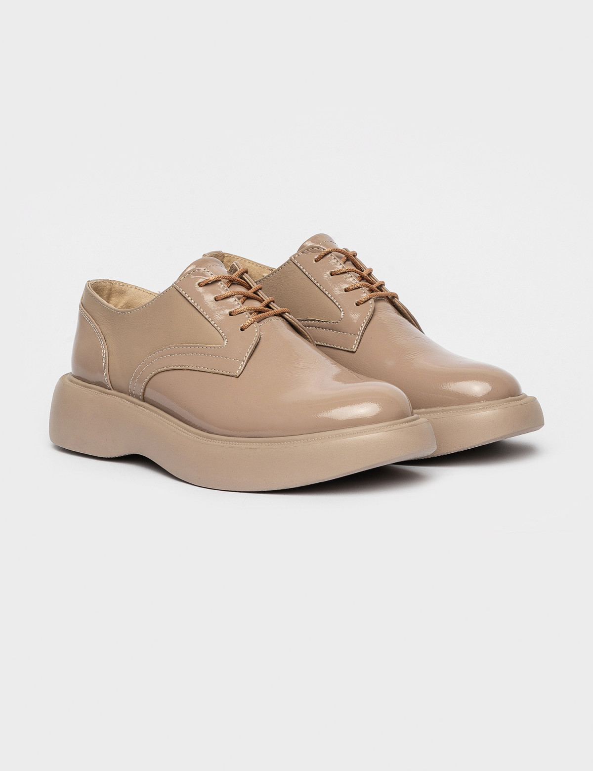 Туфлі бежеві. Натуральна шкіра1